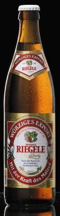 Logo Riegele Würziges Export