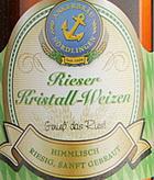 Logo Rieser Kristall Hefeweizen