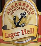 Logo Ankerbräu Nördlingen Lager Hell