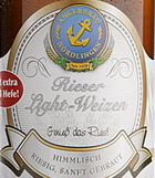 Logo Rieser Light Weizen