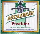 Logo Rösslebräu Festbier