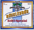 Logo Rösslebräu Edel-spezial