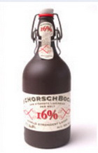Logo Schorchbock 16  -das stärkste Lagerbier der Welt