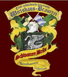Logo Schwanen-bräu Bernhausen Abraham 1870