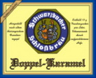 Logo Schwarzbacher Schlossbräu Doppel Karamel