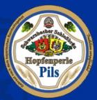 Logo Schwarzbacher Schlossbräu Hopfenperle Pils
