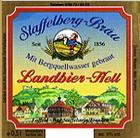 Logo Staffelberg Landbier Hell