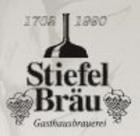 Logo Stiefel Bräu Bockbier