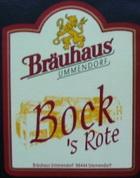 Logo Bräuhaus Ummendorf Bock- S Rote