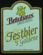Logo Bräuhaus Ummendorf Festbier- S Goldene
