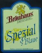 Logo Bräuhaus Ummendorf Spezial - S Blaue