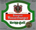 Logo Brauerei Wasserburger Urtyp Hell