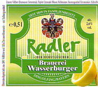 Logo Brauerei Wasserburger Radler