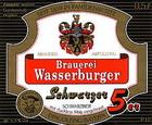 Logo Brauerei Wasserburger Schwarzer 5er