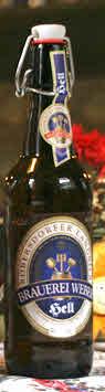 Logo Brauerei Weber Hell