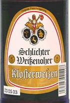 Logo Weißenoher Kloster Weizen
