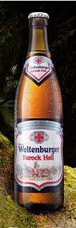 Logo Weltenburger  Barock Hell