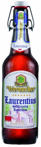 Logo Wernecker Laurentius Unfiltriertes Kellerbier