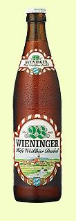 Logo Wieninger Hefe Weißbier Dunkel
