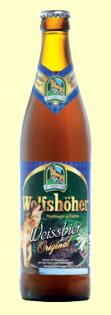 Logo Wolfshöher Weissbier Original