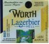 Logo Würth Lagerbier
