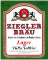 Logo Ziegler Bräu Lager