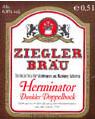 Logo Ziegler Bräu Herminator